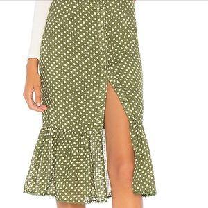Tularosa Midi Skirt